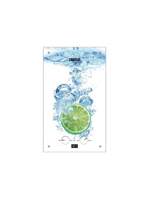 Газовая колонка Zanussi GWH 10 Lime серия Fonte Glass