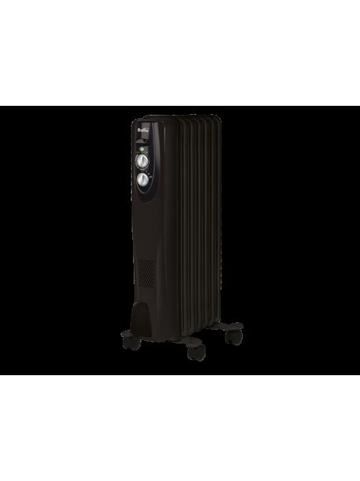 Масляный радиатор Ballu BOH/CL-07BRN серия CLASSIC BLACK