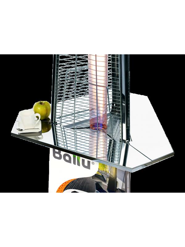 Столик Ballu BOGH-TS (нерж. сталь) для уличных газовых инфракрасных обогревателей серии Flame, Glace.