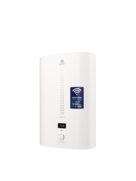 Электрический накопительный водонагреватель Electrolux EWH 80 серия Centurio IQ 2.0