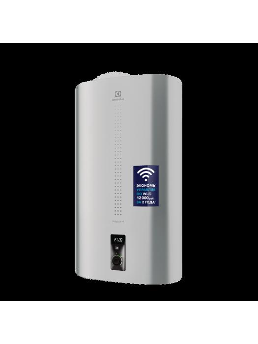 Электрический накопительный водонагреватель Electrolux EWH 100 серия Centurio IQ 2.0 Silver