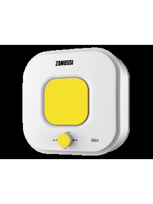 Электрический накопительный водонагреватель с эмалированным баком Zanussi ZWH/S 10 серия Mini O (yellow)