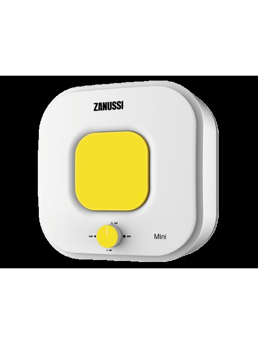 Электрический накопительный водонагреватель с эмалированным баком Zanussi ZWH/S 10 серия Mini U (yellow)