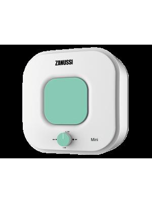 Электрический накопительный водонагреватель с эмалированным баком Zanussi ZWH/S 10 серия Mini U (green)