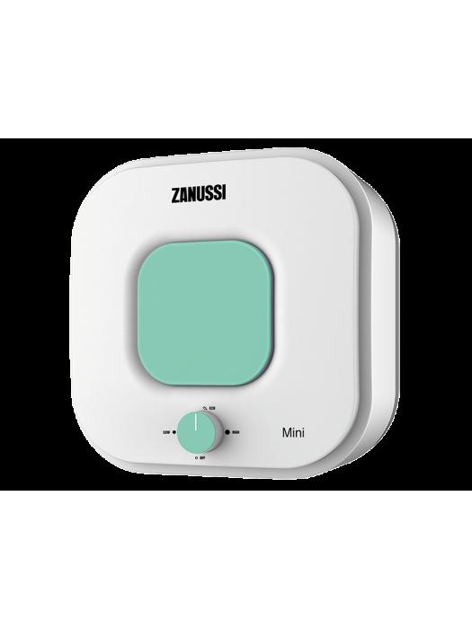 Электрический накопительный водонагреватель с эмалированным баком Zanussi ZWH/S 15 серия Mini O (green)