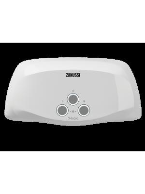 Проточный электрический водонагреватель Zanussi серия 3-logic TS (3,5 kW) - душ+кран