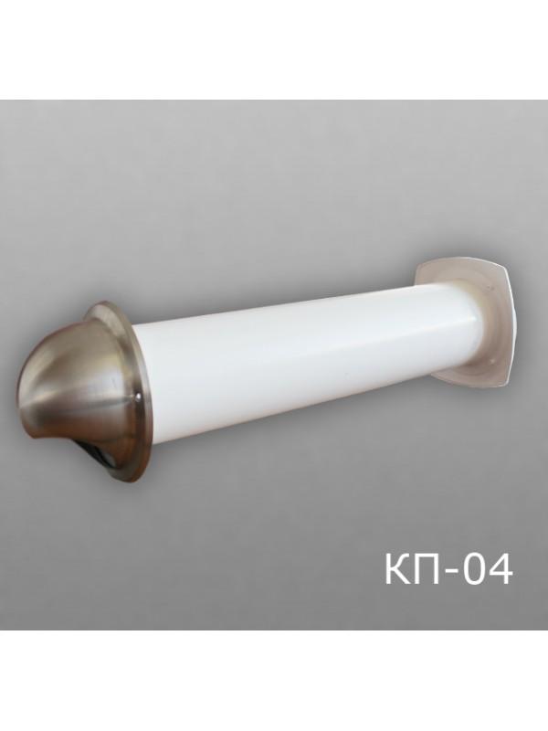 10КП-04 Клапан приточный D100 (толщина стены до 0,5м)