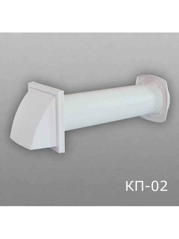 10КП1-02 Клапан приточный D100 (толщина стены до 1м)