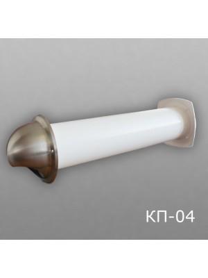 10КП1-04 Клапан приточный D100 (толщина стены до 1м)