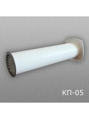 10КП1-05 Клапан приточный D100 (толщина стены до 1м)