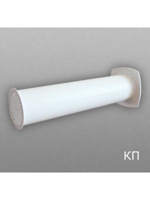10КП1 Клапан приточный D100 (толщина стены до 1м)