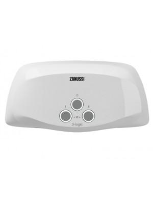 Проточный электрический водонагреватель Zanussi серия 3-logic S (3,5 kW)  - душ